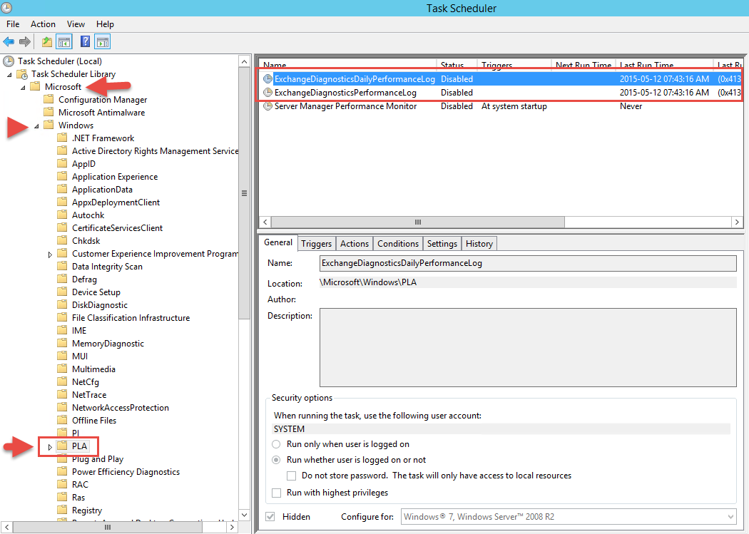 Exchange 2013 Logging: Clear out the log files – ePhams