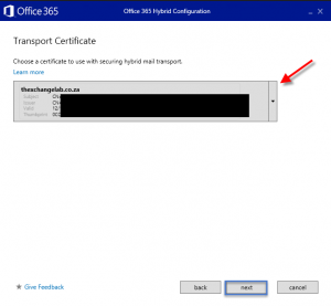 Hybrid configuration wizard hcw exchange 2013 and - Office 365 server settings for outlook 2013 ...